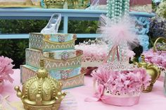 Vintage Princess Party - Baby Shower Ideas - Themes