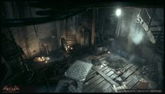 ArtStation - Batman: Arkham knight, Florian Desaunay