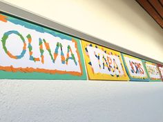 Create picture result for name tags elementary school - Art Education ideas Art Education Lessons, Art Lessons Elementary, Lessons For Kids, Elementary Schools, Arte Elemental, Famous Artists For Kids, Art For Kids, Crafts For Kids, Create Picture