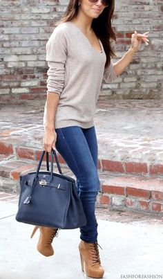 Easy outfit idea, me encanto la cartera