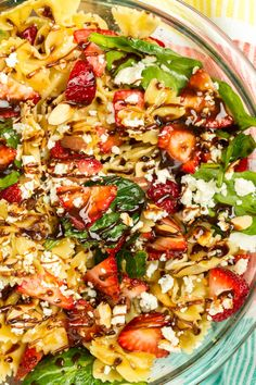 If your pasta salad doesn't include strawberries, you're not doing it right. Get the recipe from Delish.