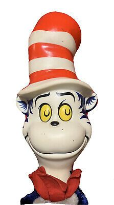 "Cat inThe Hat Mattel Dr. Seuss Pull String 18"" Hand Puppet No Talk Vintage 70 | eBay Hand Gloves, Dolls For Sale, Hand Puppets, Hands, Cat, Vintage, Cat Breeds, Vintage Comics, Cats"