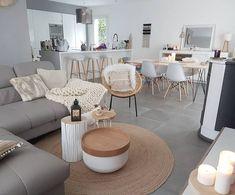 36 Fabulous Modern Scandinavian Living Room Decor Ideas - New ideas Living Room Interior, Home Living Room, Apartment Living, Home Interior Design, Living Room Designs, Living Room Decor, Scandinavian Living, Küchen Design, Apartment Design