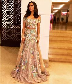 Definitely it's not easy to get over @manishmalhotra05 's creation flaunted by her perfect muse ❤ @sophiechoudry looks lovely in this #offshoulder #traditional #outfit by the maestro!! #manishmalhotra #sophiechoudry #love #lehenga #indianwear #pastel #flowers #fashion #style #celebrity #celebstyle #fashionblogger #fashionredefine http://tipsrazzi.com/ipost/1511405838044282596/?code=BT5l5oYFL7k
