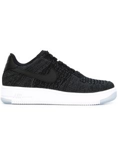 premium selection 6f5ab 86d55 Black Lace Up Shoes, Black Leather Sneakers, Black Laces, Flyknit Trainer,  Nike