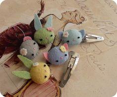 barrettes wip by Gingermelon, via Flickr