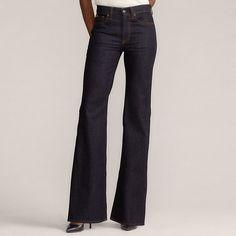 Japanese Denim, Wide Leg Jeans, Hue, Flare, Studs, Articles, Ralph Lauren, Legs