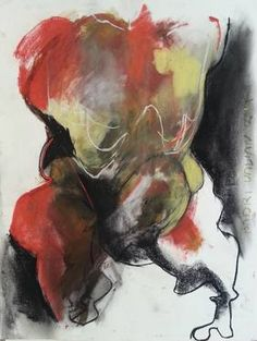 "Saatchi Art Artist Badri Valian; Drawing, ""The Monster"" #art"