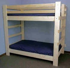 Best Easy And Strong 2X4 2X6 Bunk Bed Adk Camp Decoration 400 x 300