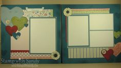 April 2012 Scrapbook Pages by stampwithsandy - Cards and Paper Crafts at Splitcoaststampers