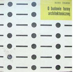 Okładka książki O budowie formy architektonicznej.