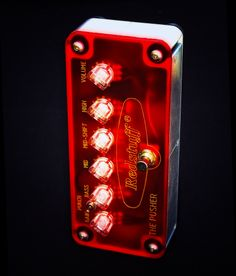 Redstuff Amplification -THE PUSHER - overdrive-distortion