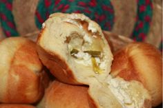 A remarkable flavor combination - Cream Cheese and Jalapeno Rolls! Mmmm