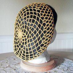 Snood Hair Net - Golden Yellow