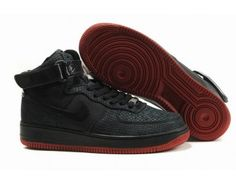 half off 8cc3d 8bb8a Nike Store. Nike Air Force 1 High Snake Shoes - Black - Wholesale  Outlet