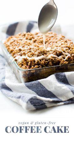vegan and gluten free coffee cake #healthymeals #dessertideas #dessertideas