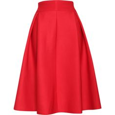 Relaxfeel Women's Red Pleated A Style Skirt ($22) ❤ liked on Polyvore featuring skirts, red, pleated skirt, a-line skirt, wet look skirt, red skirt and pleated a line skirt