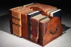 18th Century Book Trough
