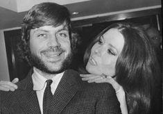 Diana Rigg with Oliver Reed, co-stars in The Assassination Bureau