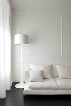 Like spun silk, the Spun Floor Lamp is a study in glossy minimalism.