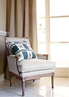 Where Should I Hang My Curtains? Custom Drapes, Home, Custom Drapery, House Styles, Curtains, Furniture, Interior Design, Drapestyle, Design Inspiration