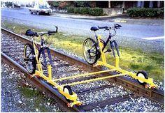 rail bikes!
