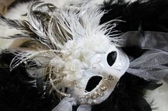 Handmade Mardi Gras Mask by KRea11 on Etsy, $89.95