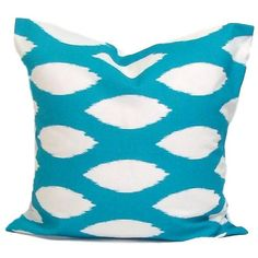 Turquoise Blue Pillow.18x18 Inch Decorative Pillow cover.throw Pillow... ($8.10) ❤ liked on Polyvore featuring home, home decor, throw pillows, decorative pillows, home & living, home décor, light blue, turquoise home decor, light blue throw pillows and baby blue throw pillows