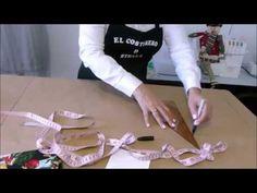 Como hacer un delantal- How to make an apron - YouTube