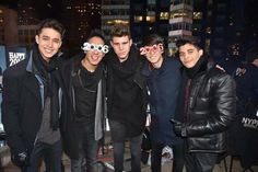 cnco in times square.. so proud of my babies ❤✨