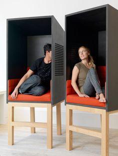 "Arik Levy's ""Confessions"". Phone rooms!"