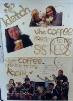 Christiana Tao's #Coffee lovers collage entry #gotmilk #gotlatte #smileyface #cute