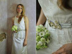 Hochzeitskleid mit Spitze von coledo auf DaWanda.com
