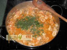 Seafood risotto (Risotto alla pescatora) | Risotto recipes WebPhoto 29