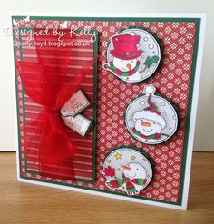 LOTV - Snowmen Trio with Simple Joys Paper Pad and Sentiment Tags by Kelly Lloyd