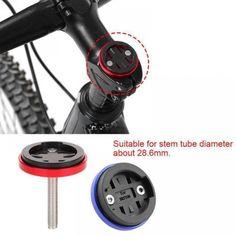 Adjustable Bike Bicycle Cycling Stem Top Cap Stopwatch Phone Bracket Holder Kit