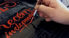 Sol beer – Sign painting and chalk lettering