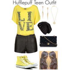 Hufflepuff Teen Outfit