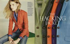 J. Crew Hacking Jacket. I want one in every color