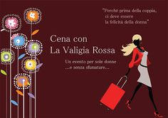 Dinner with la maleta roja for a Women Day that really celebrates woman being at #Agriturismo La Frasca