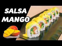 Mango Sushi, Sushi Sushi, Sushi Recipes, Tempura, Ratatouille, Rolls, Ethnic Recipes, Youtube, Salads