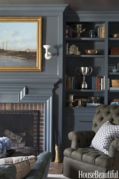 Navy and Brick