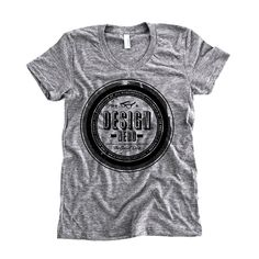 Design Nerds Seal Tee - add a black leather moto jacket you're ready to be a badass designer!!