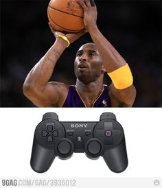 Kobe Bryant Special PS3 Controller