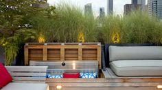 Rooftop Garden Escape | Tricia Martin & Winston Ely, WE Design #newyork #landscape #design #roof #garden #green #patio  #planter