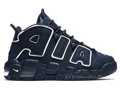 low priced 107ac 41138 Officiel Nike Air More Uptempo Gs 415082-401 Chaussure De Basketball Pas  Cher Femme Bleu