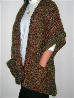 Super Simple Shaped Shawl crochet pdf pattern by BellaCrochet, $6.95