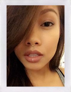 faux septum ring. by BENTbyVictoria on Etsy