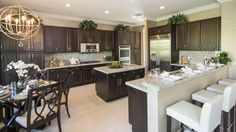 The Manchester Model Home at The Bridges #realestate Delray Beach, Florida #glhomes