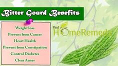 Health Benefits Of Bitter Guard